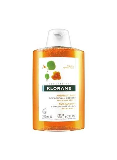 Klorane KLORANE Shampooing Capucine 200 ml - Latin Çiçeği ekstreli şampuan (Kuru Kepek) Renksiz